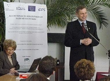 Kluby Wsparcia Koleżeńskiego naZiemi Łęczyckiej