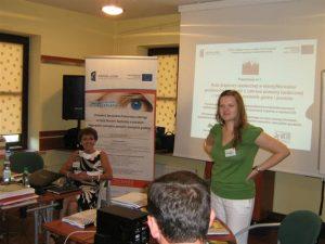 Kreowanie Specjalistów Partnerstwa Lokalnego na rzecz Ekonomii Społecznej w powiatach: biłgorajskim, zamojskim ziemskim  i zamojskim grodzkim 85