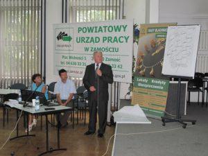 Specjaliści Partnerstwa Lokalnego i Ekonomii Społecznej w powiatach: biłgorajskim, tomaszowskim, janowskim, zamojskim ziemskim i zamojskim grodzkim 23