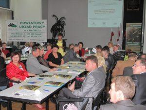 Specjaliści Partnerstwa Lokalnego i Ekonomii Społecznej w powiatach: biłgorajskim, tomaszowskim, janowskim, zamojskim ziemskim i zamojskim grodzkim 27