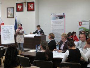 Specjaliści Partnerstwa Lokalnego i Ekonomii Społecznej w powiatach: biłgorajskim, tomaszowskim, janowskim, zamojskim ziemskim i zamojskim grodzkim 44